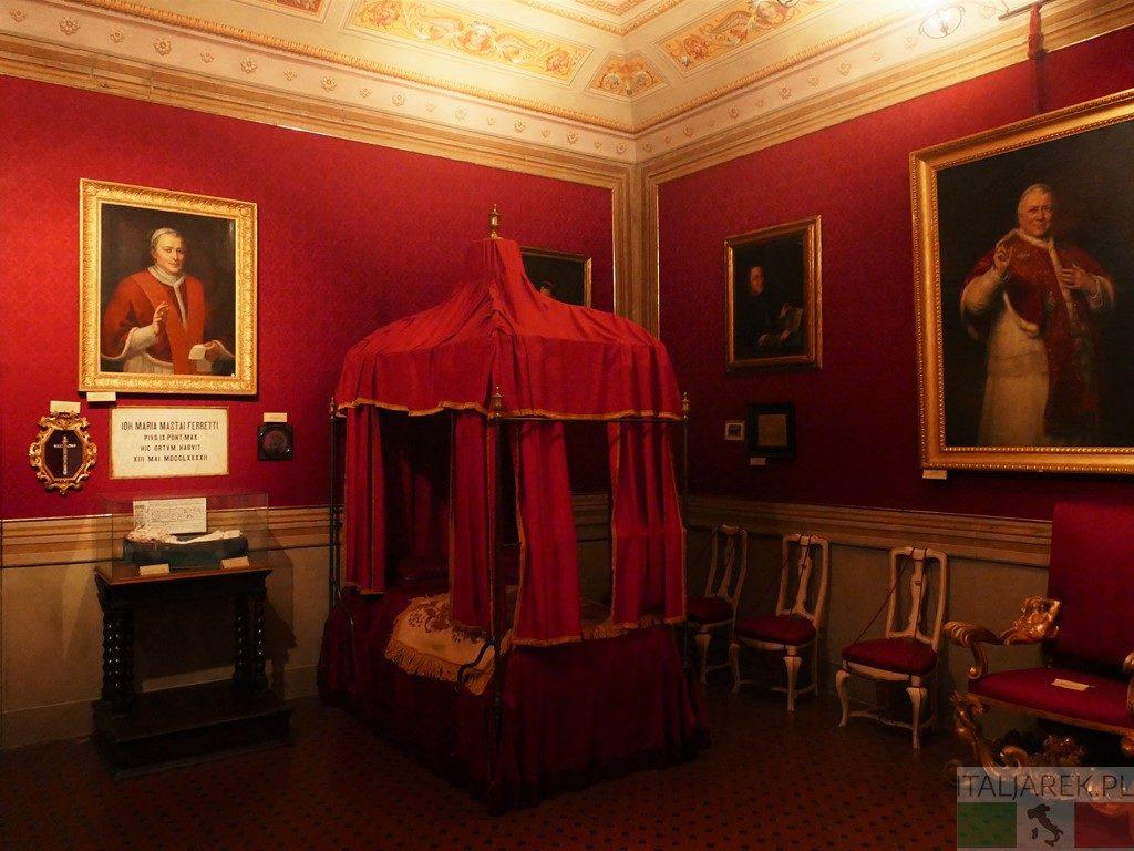 Palazzo Mastai - pokój papieski