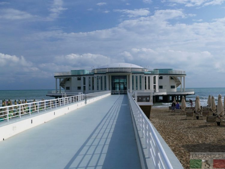 Senigallia - Rotonda a mare
