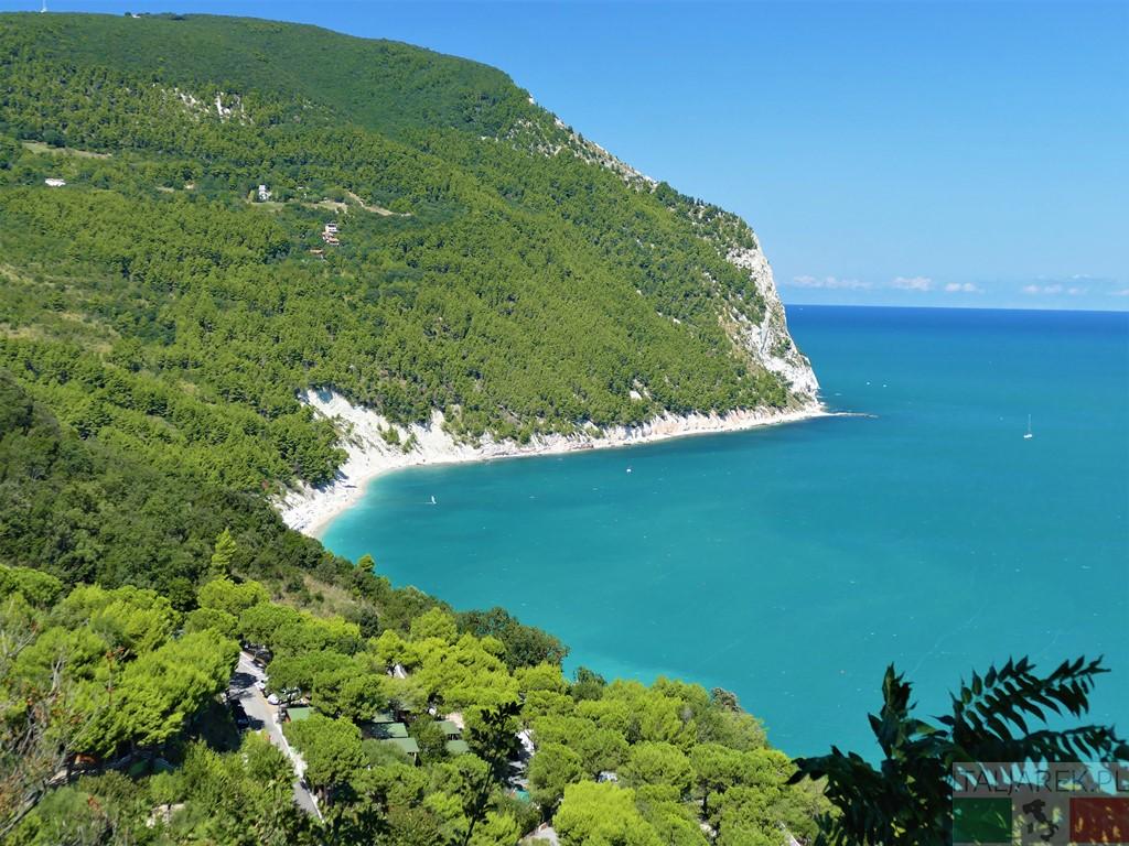 Riviera del Conero - widok z Sirolo