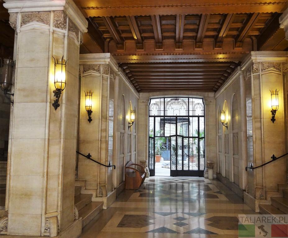 Wnętrze Palazzo dell acqua