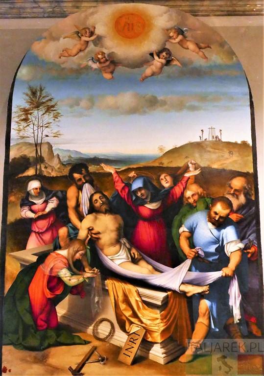 Lorenzo Lotto, Złożenie do grobu, Jesi