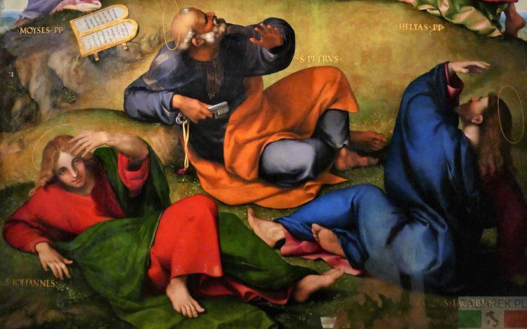 Lorenzo Lotto - Recanati, Przemienienie