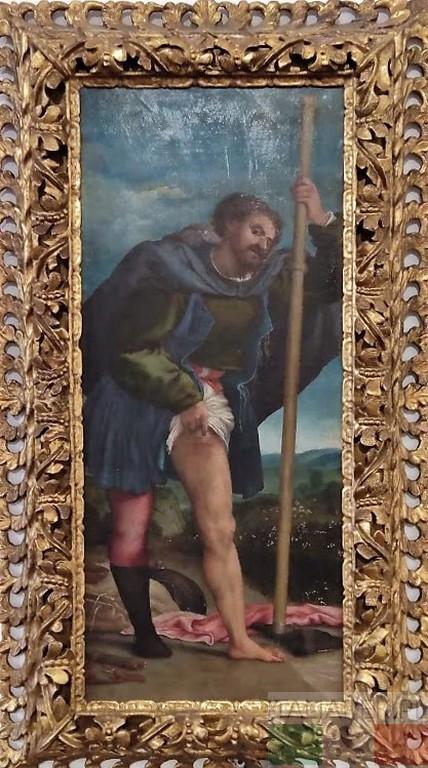 Lorenzo Lotto, św. Roch, Urbino