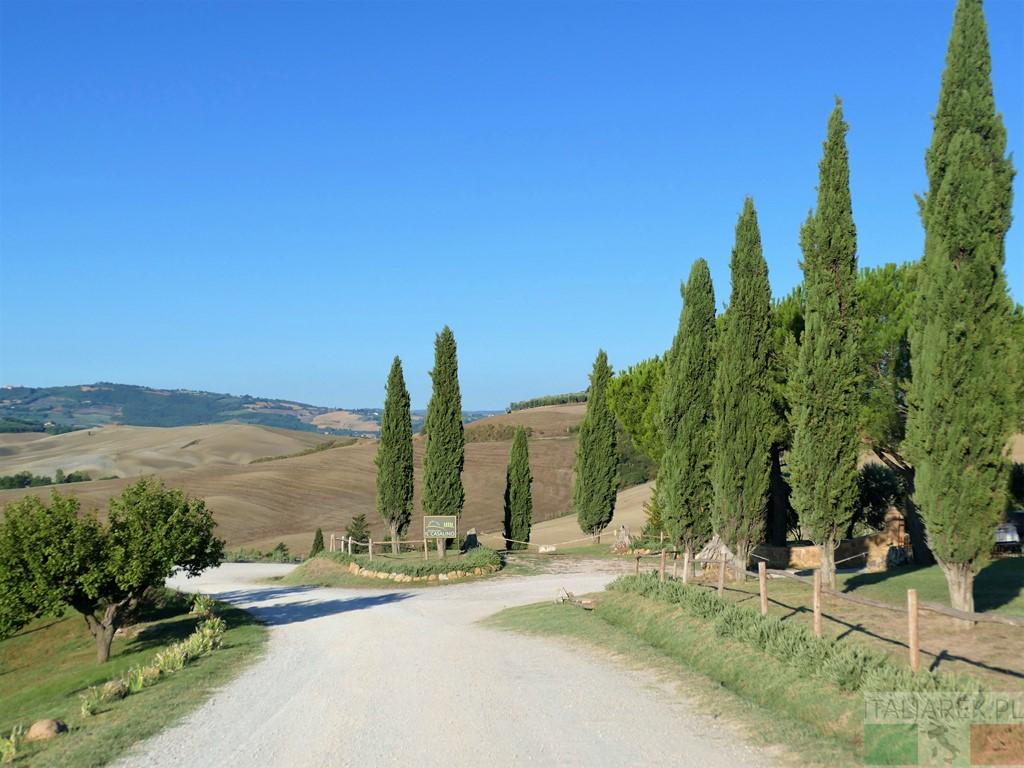 Val d'Orcia - niedaleko Il Casalino