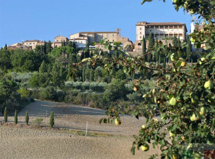 Widok Pienzy z Il Casalino