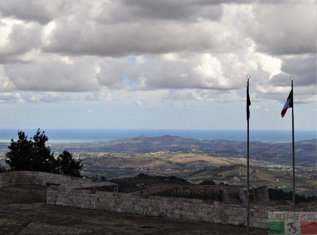 Panorama z Fortezza di Civitella del Tronto