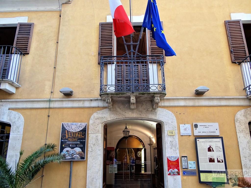 La casa natale di Gabriele d'Annunzio, Pescara
