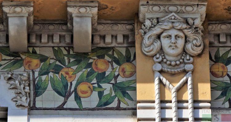 Pescara - Teatro Michetti - secesja