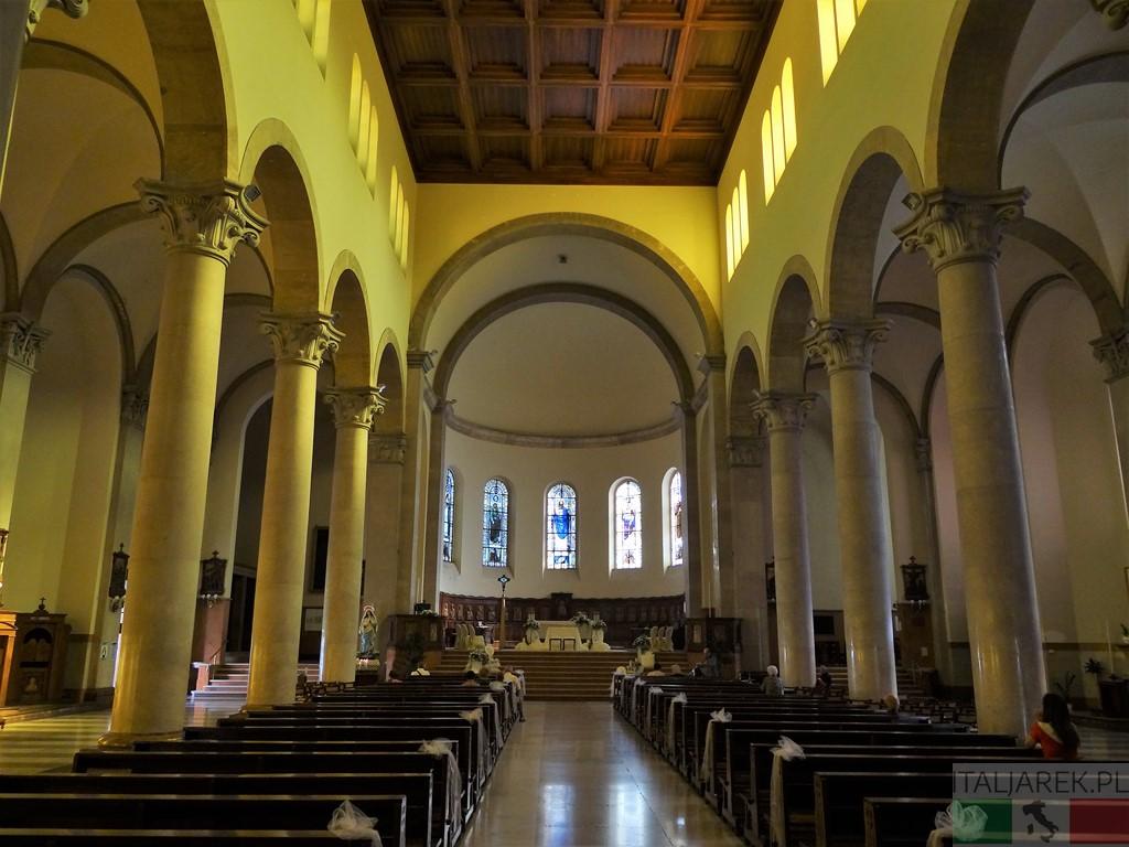 Katedra San Cetteo - wnętrze