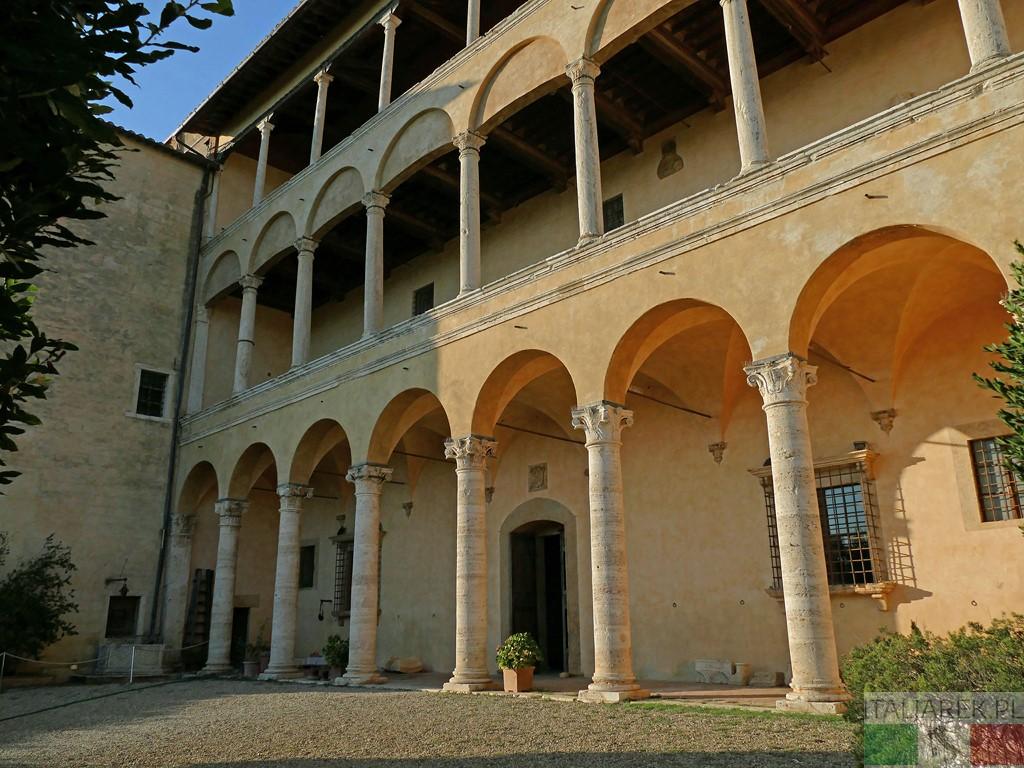 Palazzo Piccolomini od strony ogrodu