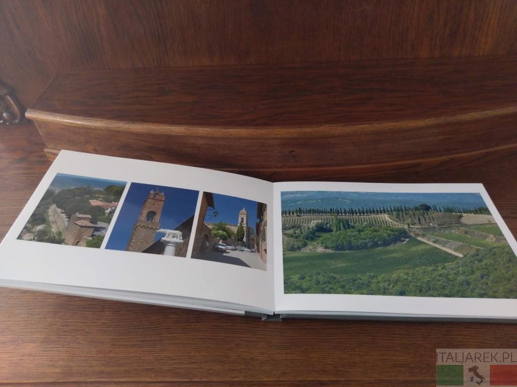 Val d'Orcia - fotoksiążka, strona wewnętrzna