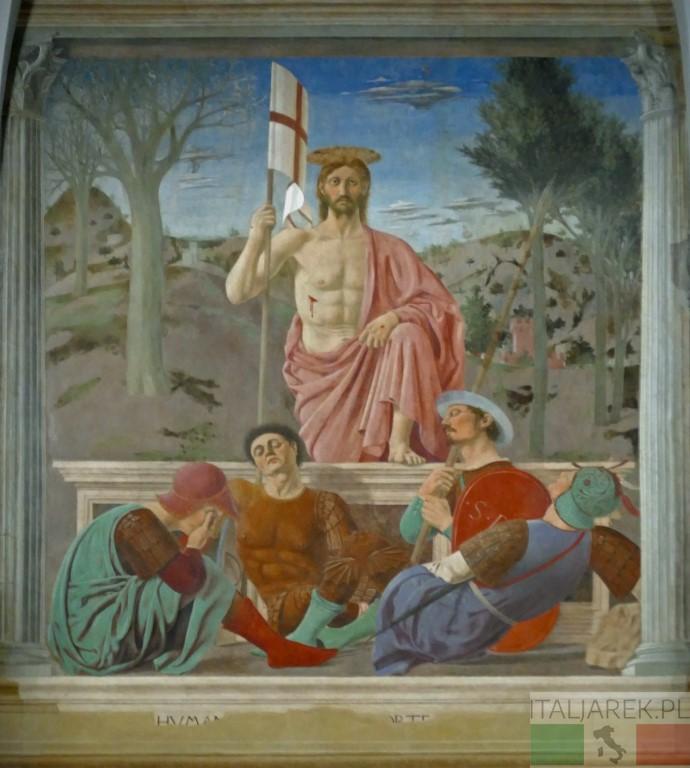 Zmartwychwstanie, Piero della Francesca