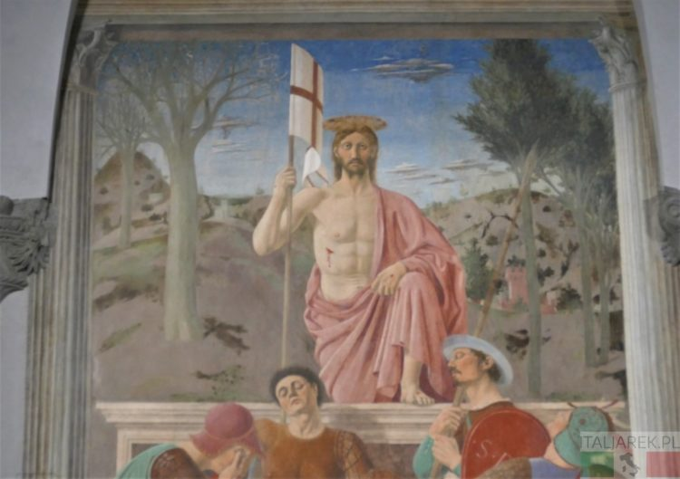 Zmartwychwstanie, Piero della Francesca, Moseo Civico Sansepolcro