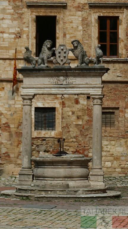 Montepulciano - studnia Medyceuszy