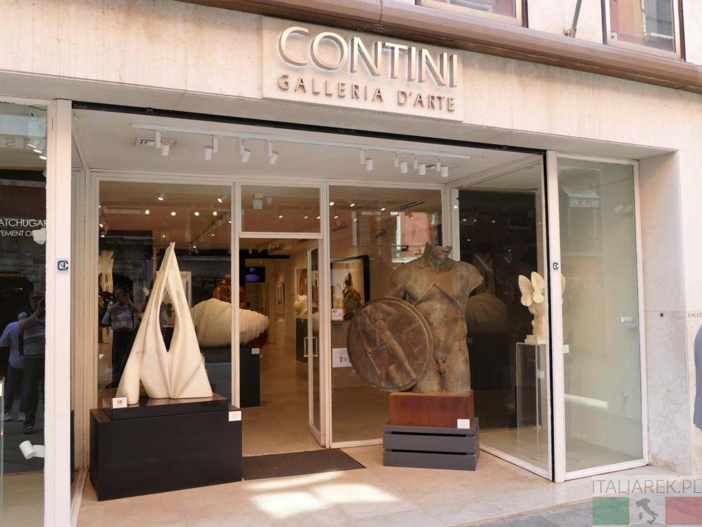 Igor Mitoraj - rzeźba w galerii Contini