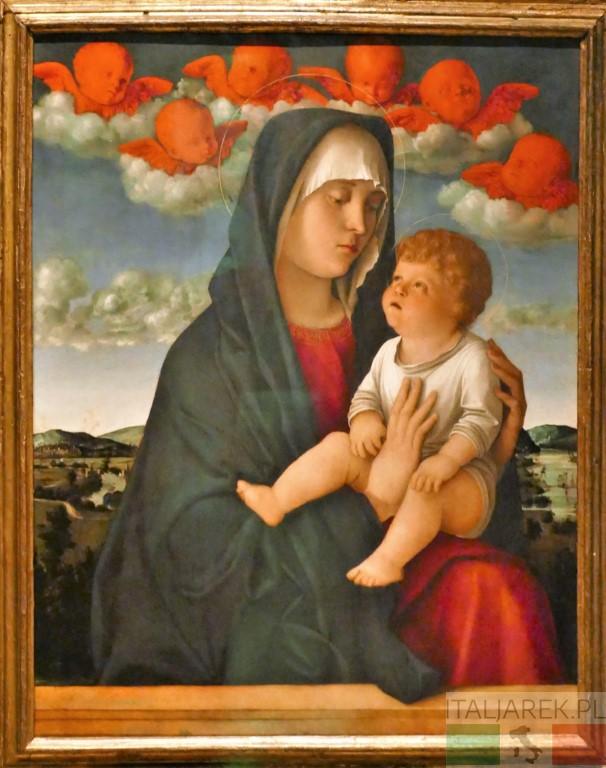 Madonna col Bambino (Madonna dei cherubini rossi)