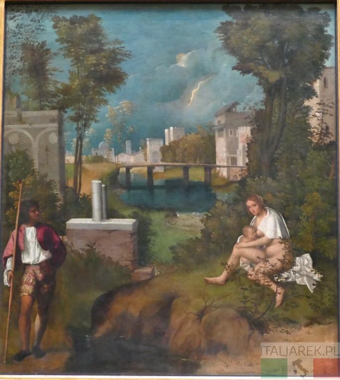 Giorgione, Burza