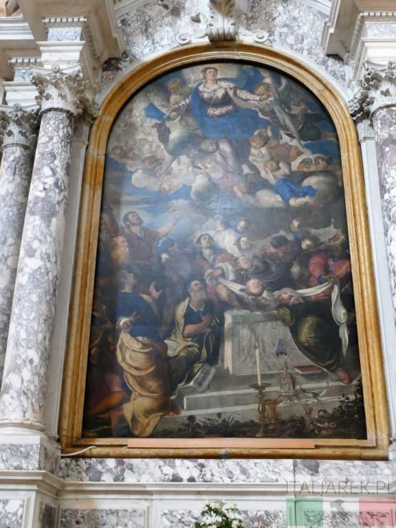 Gesuiti - Tintoretto: Wniebowzięcie NMP