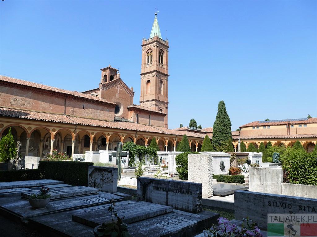Certosa di Bologna - widok na kościół San Girolamo