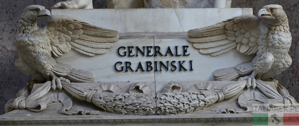 Pomnik generała Grabińskiego - Certosa di Bologna