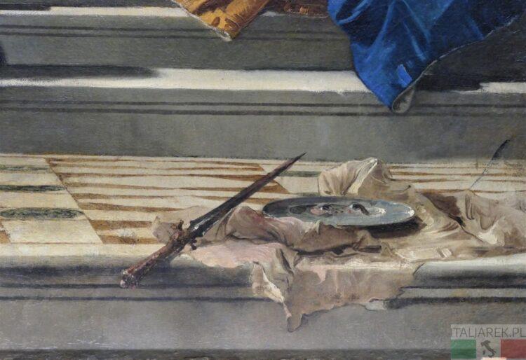święta Łucja - fragment obrazu Tiepolo