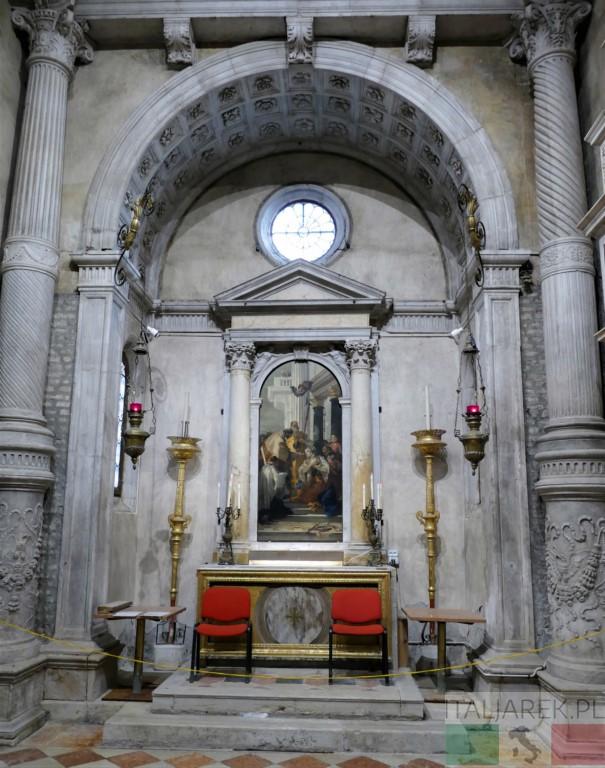 Kościół Santi Apostoli - capella Corner