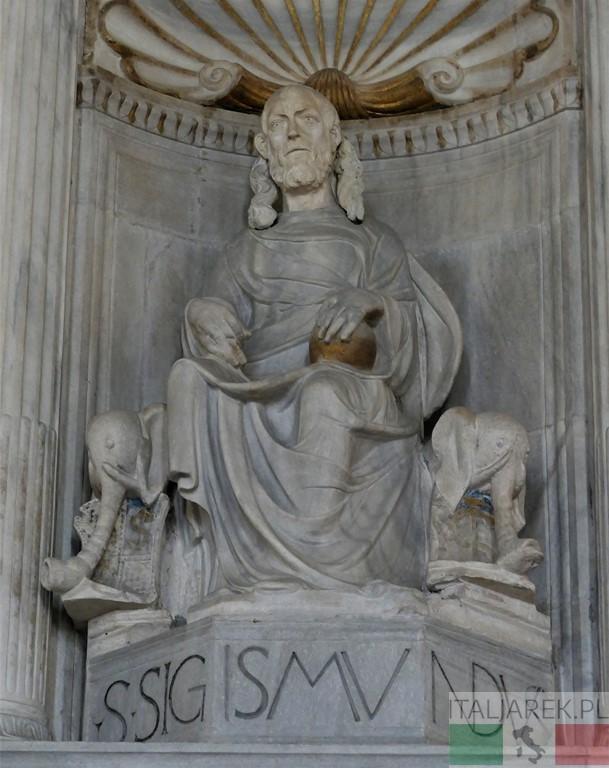 Tempio Malatestiano - św, Zygmunt