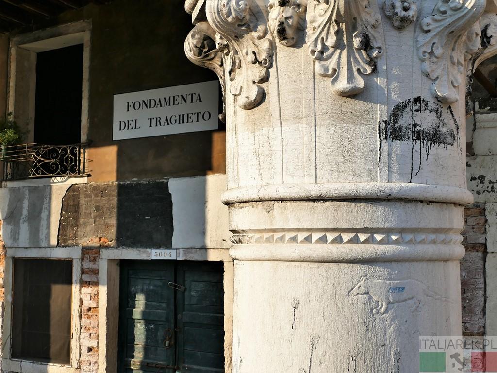 Fondamenta del Tragheto - 'na pantegana.