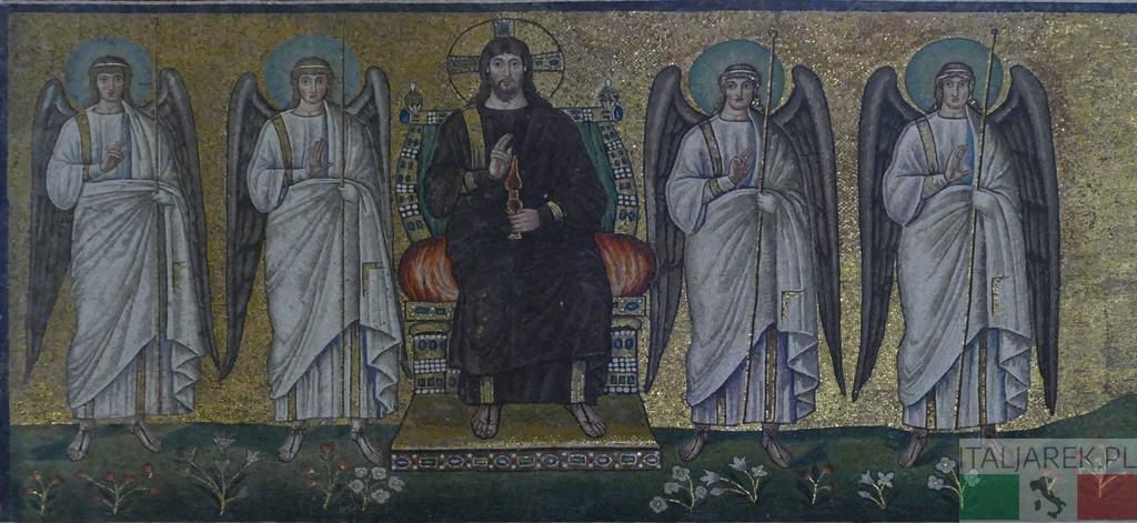 Chrystus na tronie
