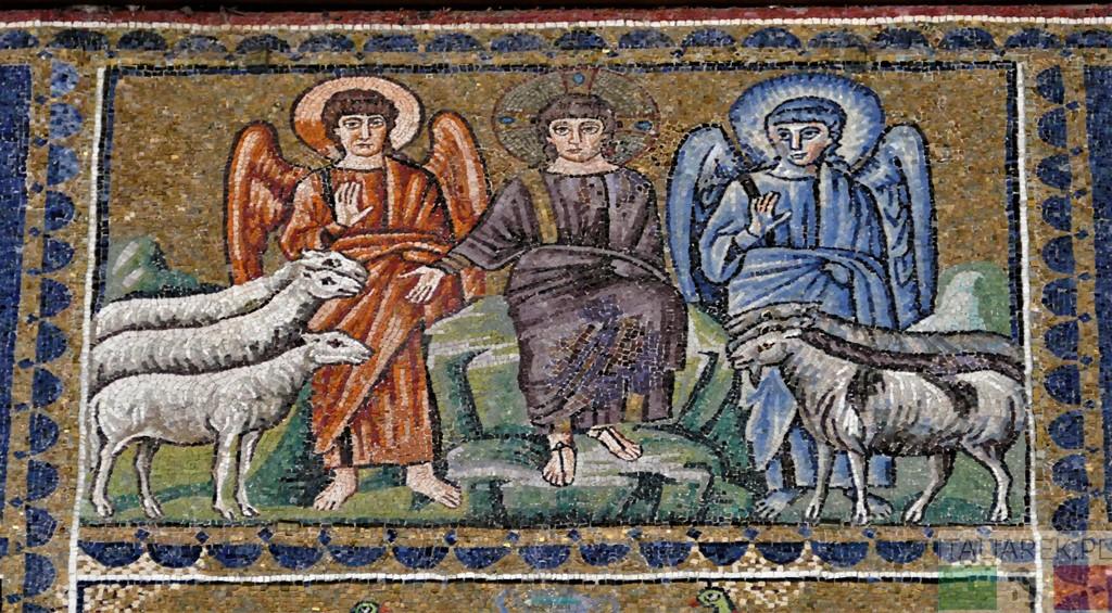 Chrystus oddzielający owce od kozłów