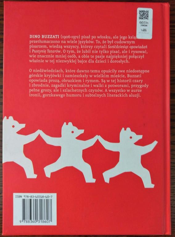 Dino Buzzati - wydanie Czuły Barbarzyńca