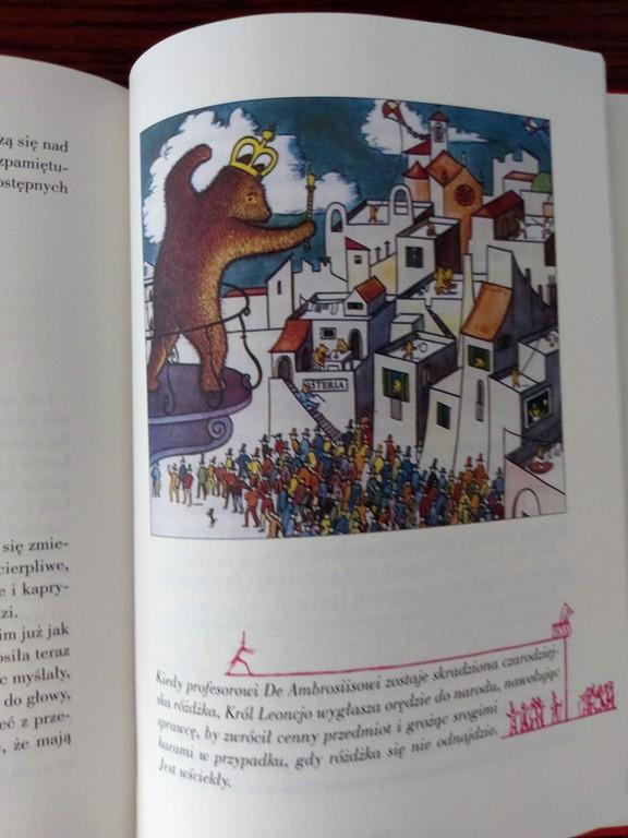 Słynny najazd niedźwiedzi na Sycylię - straona z książki