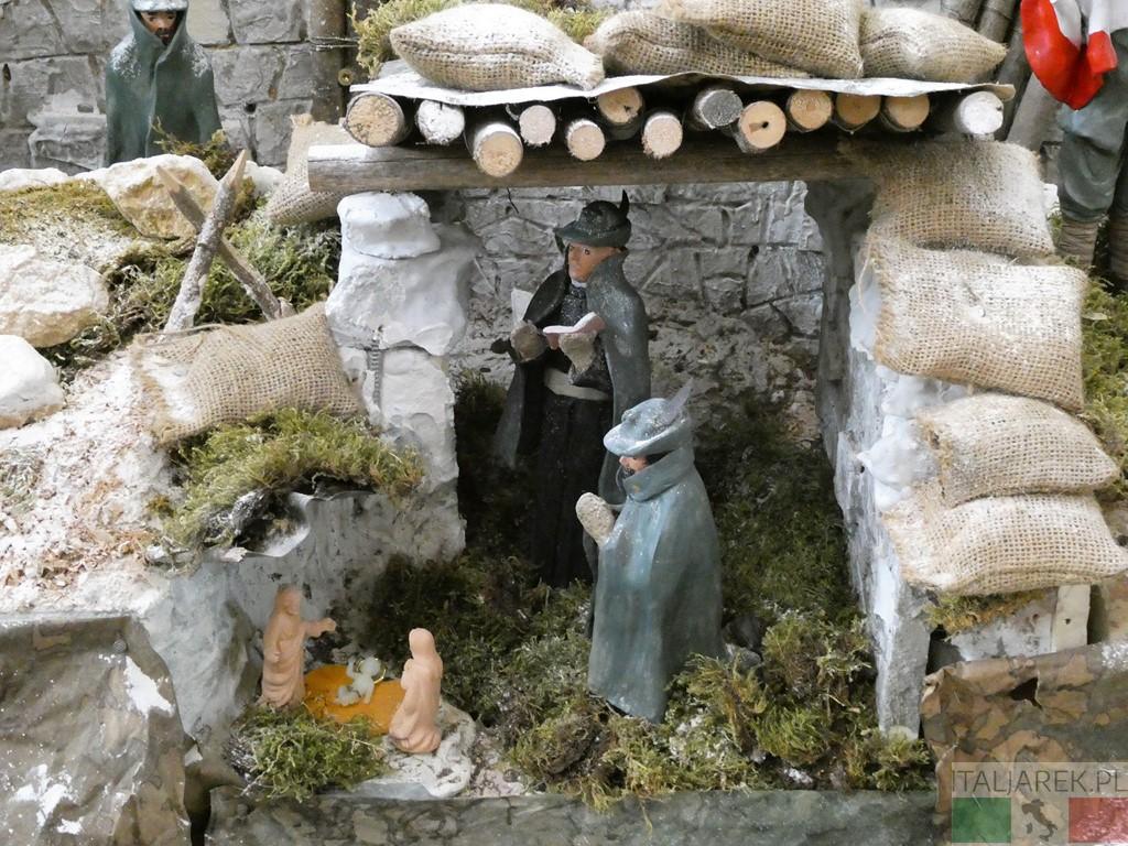 Szopka w Tempio ossario di Bassano del Grappa