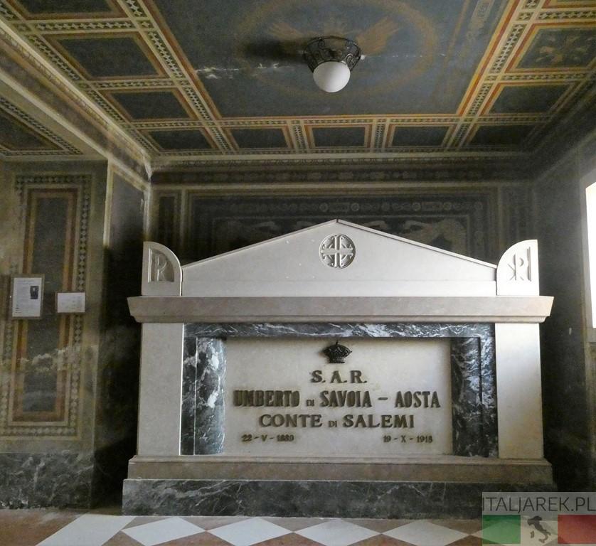 Grób Umberto di Savoia-Aosta