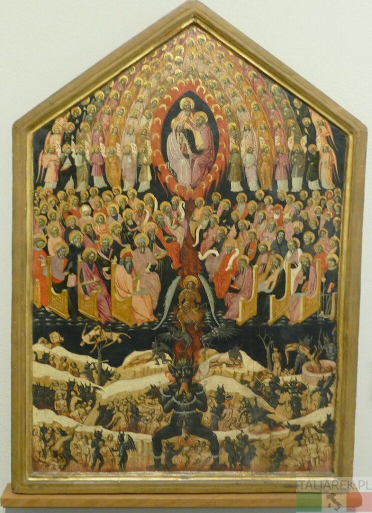 Paradiso e Inferno - pinakoteka Bolonia