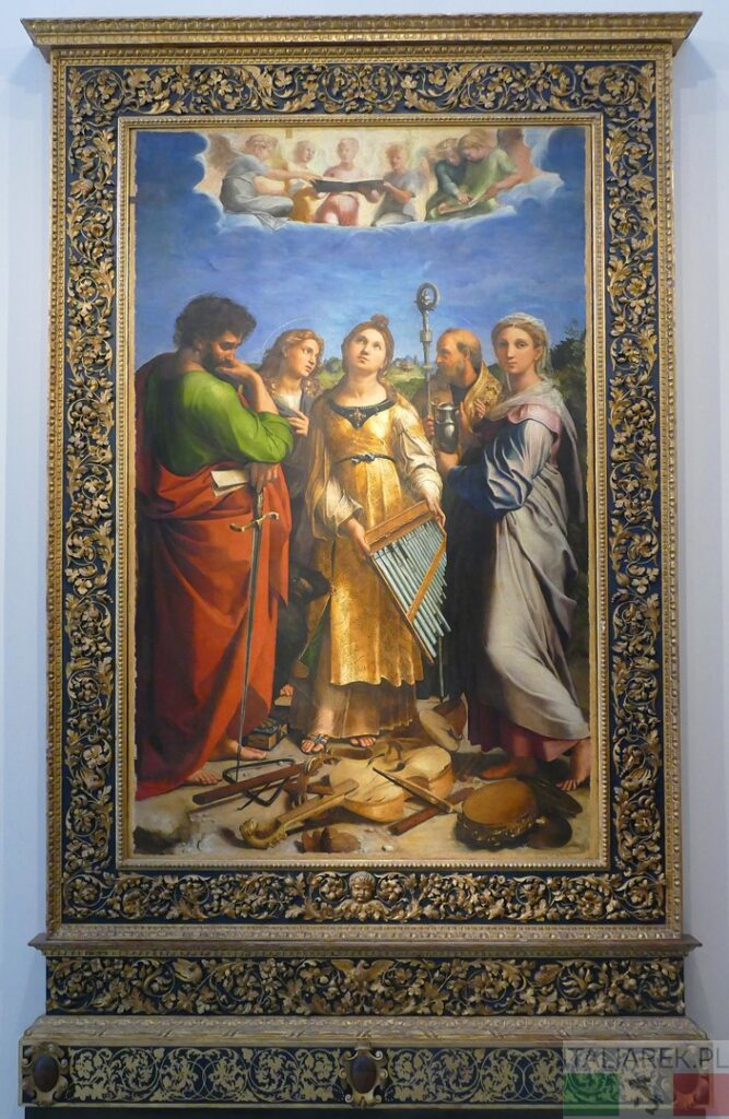 Rafael - Ekstaza św. Cecylii