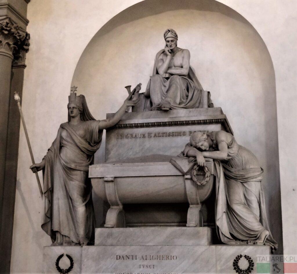 Cenotaf Dantego - Florencja, bazylika Santa Croce