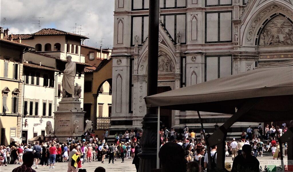 Pomnik Dantego - Florencja