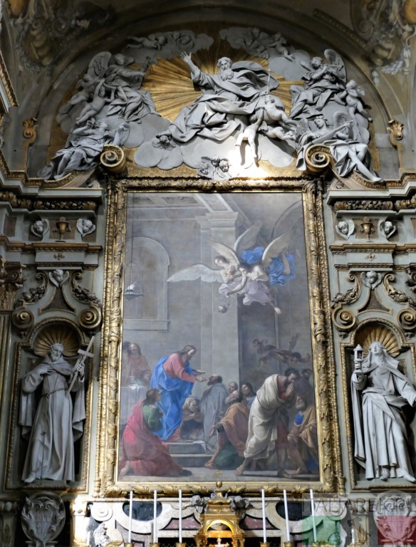 Marcantonio Franceschini, Chrystus udzielający komunii Apostołom