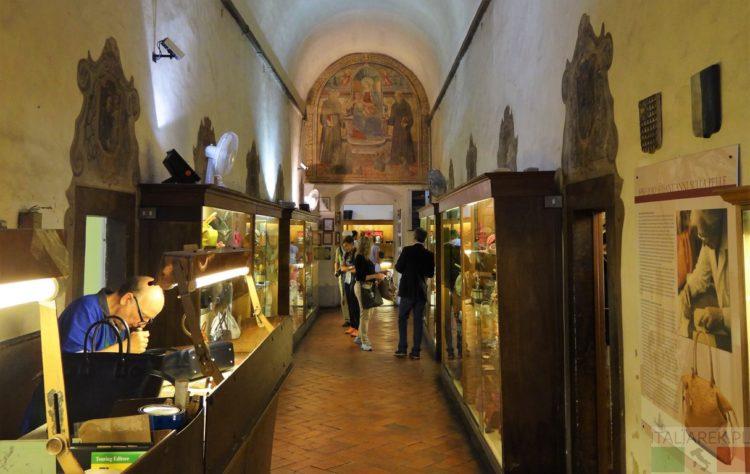 warsztat w kościele Santa Croce - Florencja