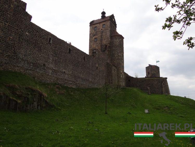 Zamek Stolpen w Saksonii