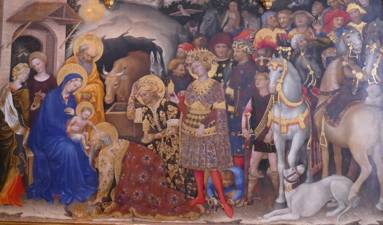 Gentile da Fabriano, Florencja, Galeria Uffizi