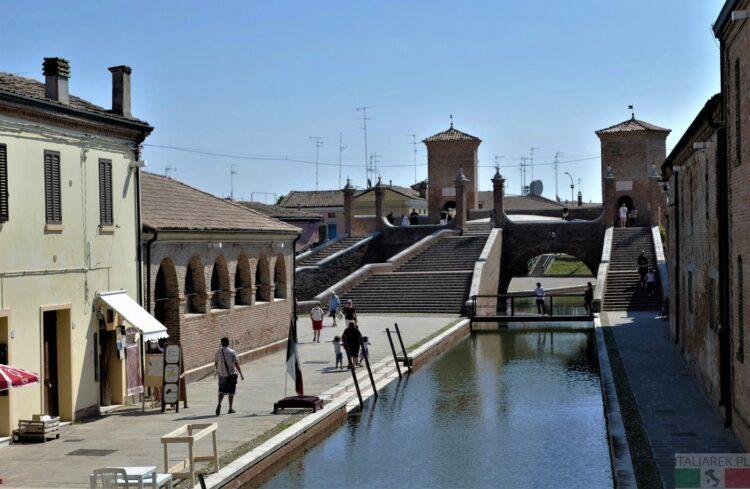 Comacchio - widok na Treponti