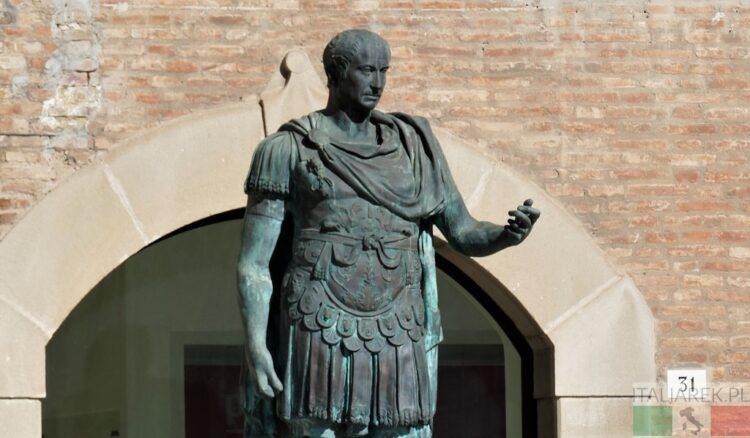 Rubikon, Cezar, Rimini i Mussolini