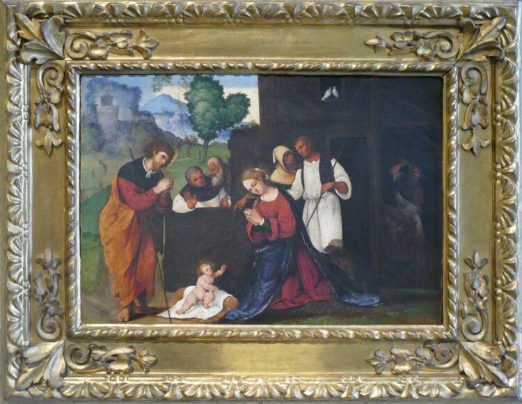 Boże Narodzenie w Bolonii - Pinakoteka, Ludovico Mazzolino